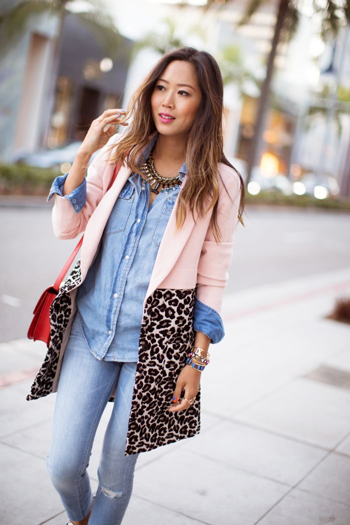 Denim on denim, and leopard on leopard… I love wearing different variations of the denim on denim look. One might ask, how many different ways can you style …