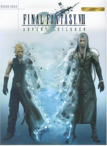 Final Fantasy VII Advent Children Piano Solo Sheet Music - http://www.psbeyond.com/view/final-fantasy-vii-advent-children-piano-solo-sheet-music - http://ecx.images-amazon.com/images/I/51X759H4AZL.jpg