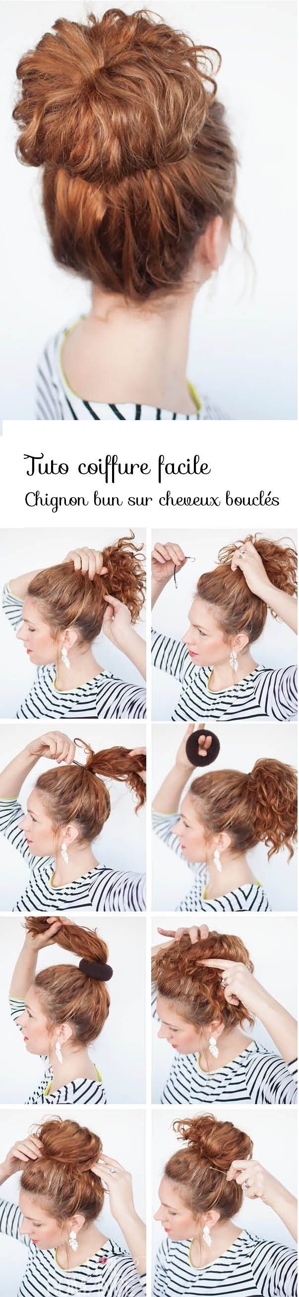 Fabuleux 310 best tuto de coiffure images on Pinterest | Hairstyles, Hair  RV15
