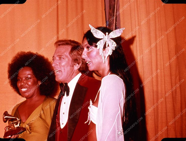 candid Robert Flack Andy Williams Cher at Grammy Awards 35m-2093