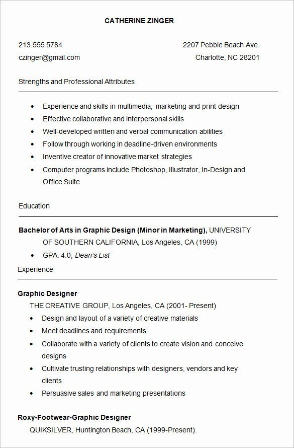Graphic Design Student Resume Lovely 24 Best Student Sample Resume Templates Wises College Resume Template Sample Resume Templates Downloadable Resume Template