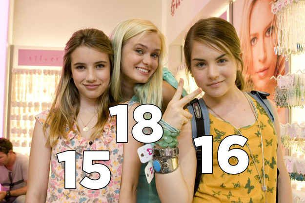 Aquamarine. | The Real Ages Of '00s Movie Teenagers