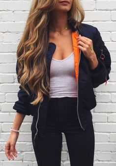 black windbreakers outfit - Google Search