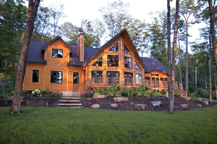257 Best Images About Wood Cabins Timber Block