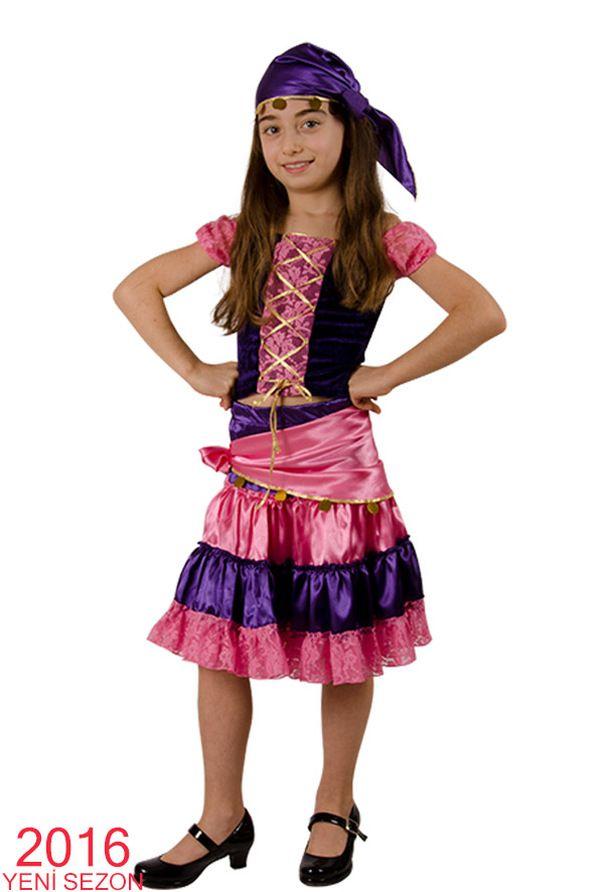Roman Kız Kostümü - Costumini Çocuk Kostümleri Tasarımı Ve Üretimi