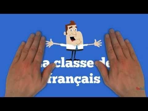 La classe de français - Chaîne de capsules vidéos pour l'apprentissage du français.