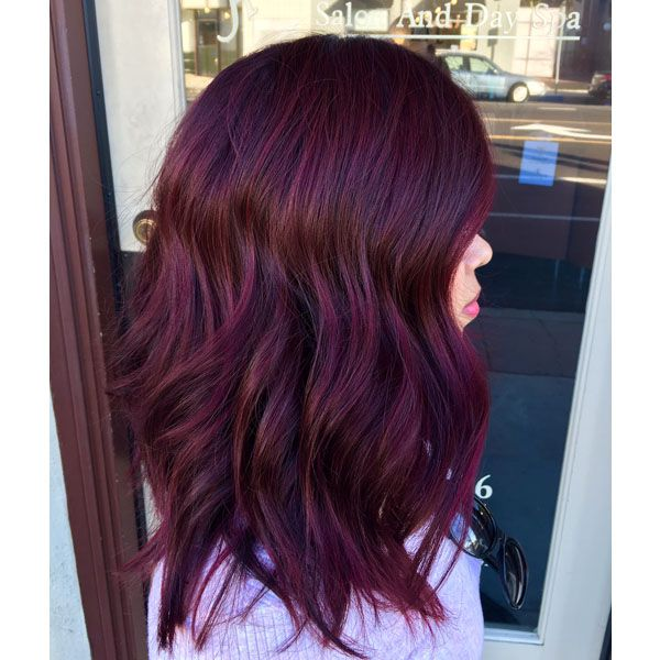 Still in love with shades of plum? Good, because this top trend isn't going anywhere. The latest inspo is courtesy of California-based coloristElena Rosas (@hair.by.elenarosas) and it got more than 22k likes when we posted it to our Instagram! Dying to know how to recreate this luscious merlot? Find out how Elena did it below. … Continued