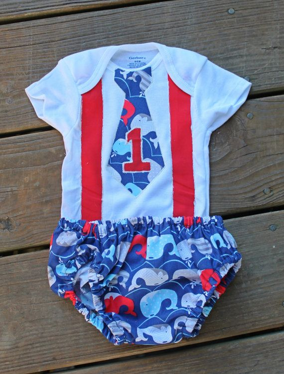 1st birthday outfit boy Boys One Shirt red and by BailaDesignsCo