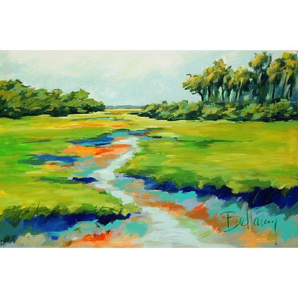 Bellamy Murphy On Instagram Bellamyart Marsh Painting Artist Savannah Art Pictures Art Painting