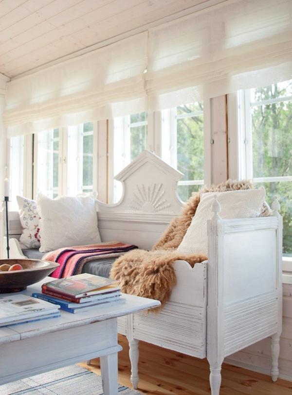 Cozy day bed - Kesäkeitaana kalastajan mökki   Koti ja keittiö