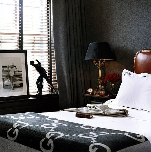 Masculine Interior Design: 98 Best Masculine Bedrooms Images On Pinterest