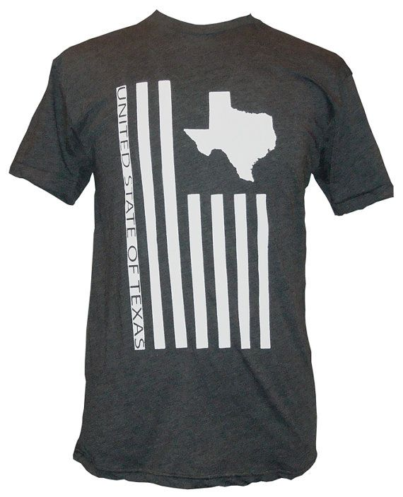 United State of Texas TShirt American Apparel by ImprintedLiving, $10.00