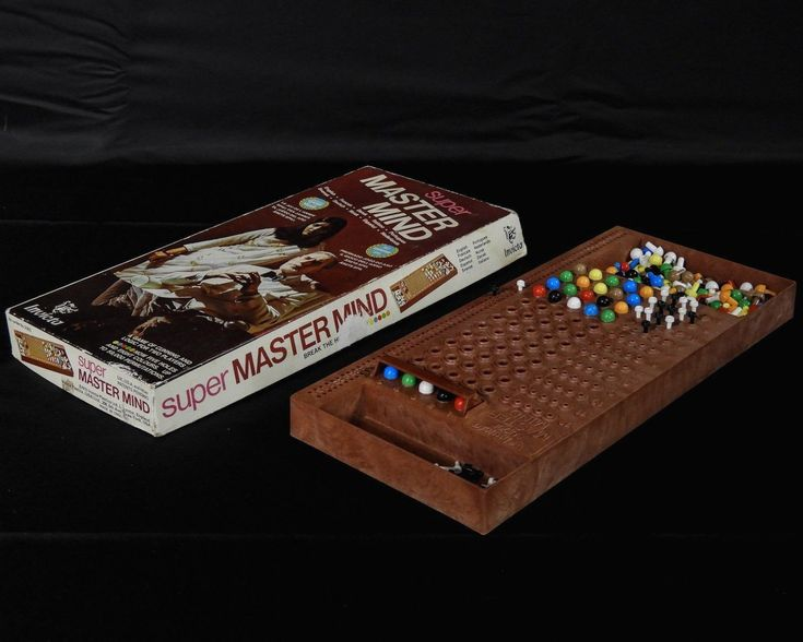 Vintage Board Game Super Master Mind 1975 Invicta Two