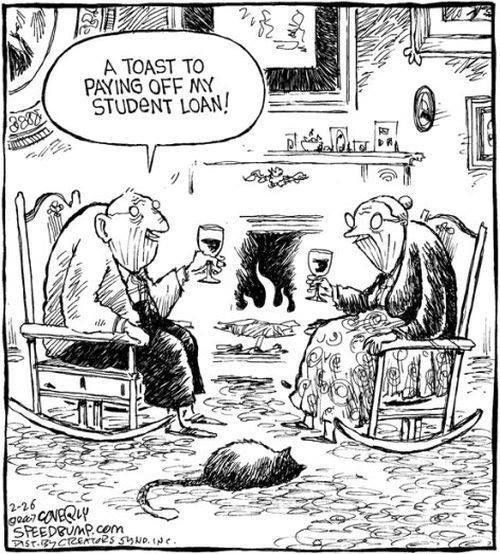 Tickled #347: Student Loan Humor