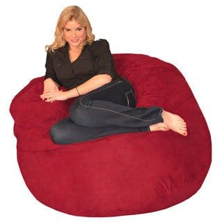 Shop For Memory Foam Bean Bag 4 Foot Chair Get Free Delivery At Overstock