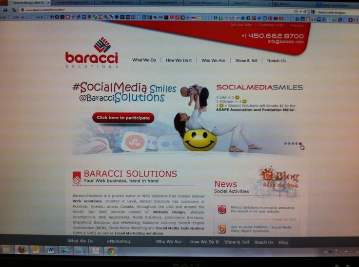 Un nouveau Baracci.com sur le Web. Visitez notre site Web au www.baracci.com
