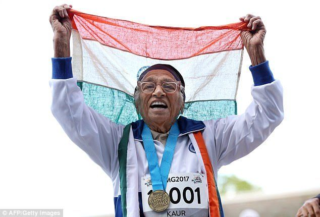 101-year-old wins 100m sprint Masters Games in Auckland #year #online #masters http://health.nef2.com/101-year-old-wins-100m-sprint-masters-games-in-auckland-year-online-masters/  # Move over Usain Bolt! Inspirational 101-year-old woman takes out GOLD in 100metre dash Man Kaur, 101, won 100m sprint at the World Masters Games in Auckland In preparation she was on a diet of wheat grass juice and a daily glass of milk There is no end in sight for Kaur who plans to compete in the event next year…