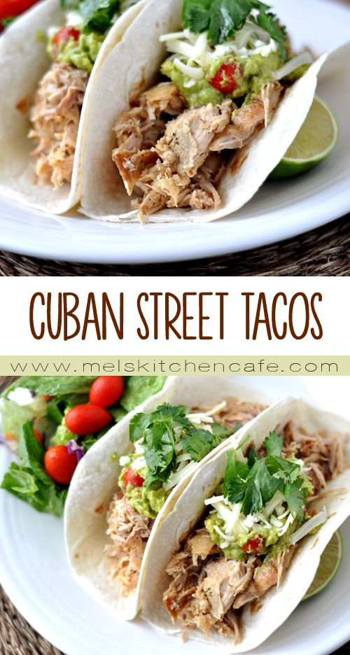 Eaten in tacos one day and transformed into quesadillas the next, these Cuban Street Tacos are an absolute home run.