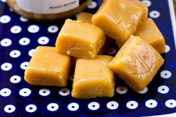 Фадж из арахисового масла
