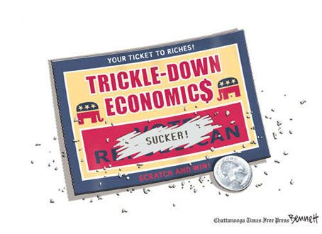 Nail in the Coffin: Two New Studies Destroy The Myth Of Trickle Down Economics