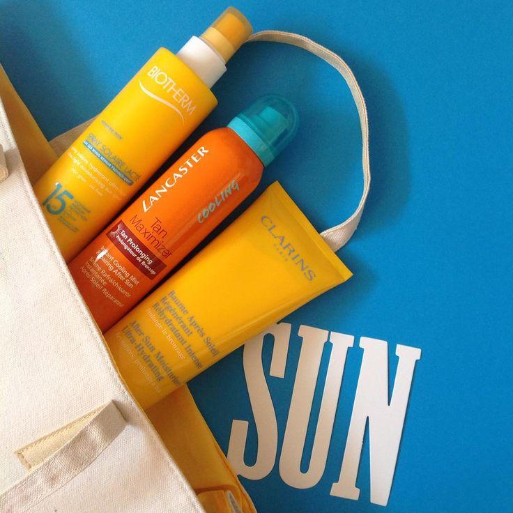 Lorsque l'on s'expose au soleil, on se protège avant, pendant et après ! Retrouvez tous les produits solaires sur kalista-parfums.com ! #sun #kalistaparfums #summer #beauty  #protection #biotherm #lancaster #clarins