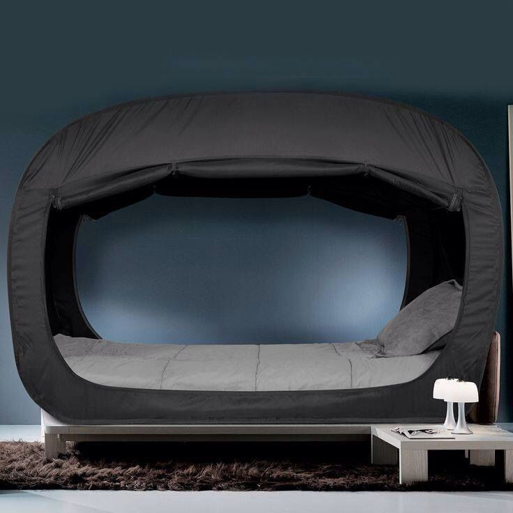 The Privacy Pop is the perfect solution for naptime bedtime playtime and alone time when youu0027re living in close quarters. This unique bed tent fits ... & 35 best How do you Pop? images on Pinterest | Bed tent Canopy for ...