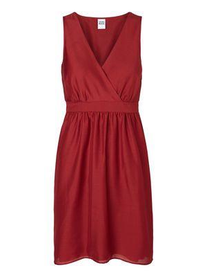 Sleeveless Wrapped Short dress - Vero Moda