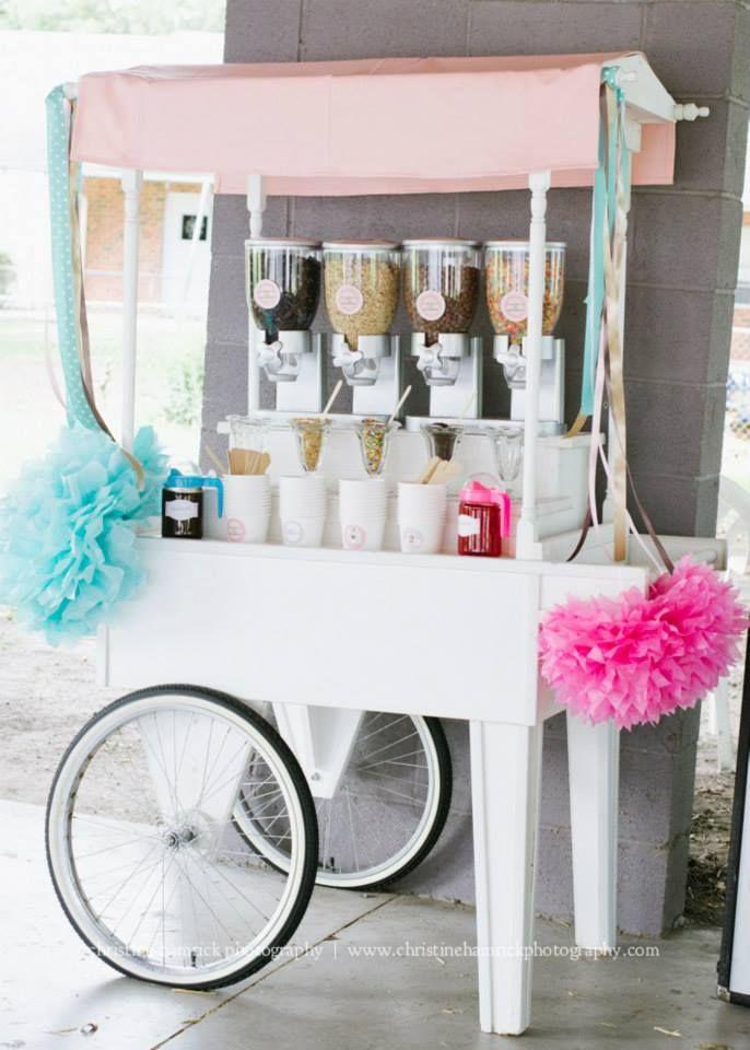 Ice Cream Cart Display!