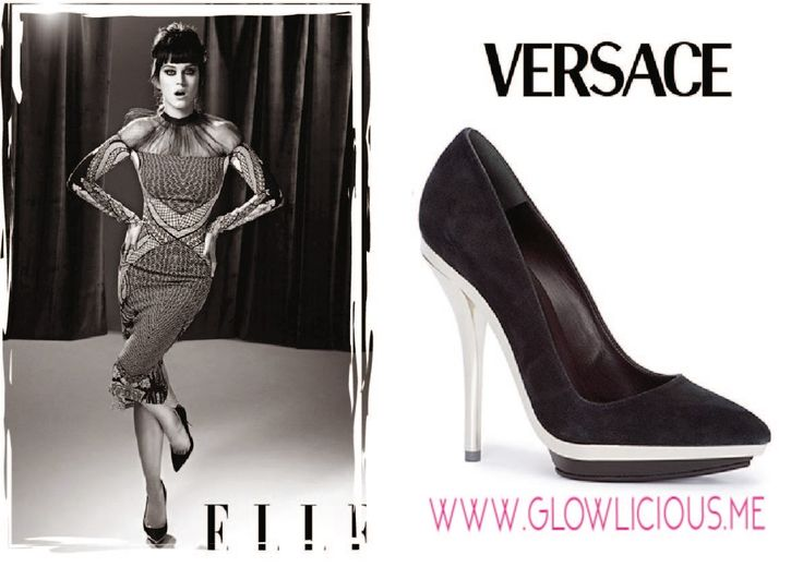 #SpottedOnCeleb #CelebrityStyle #KatyPerry #Versace #VersaceShoes #Style #Platform #Pumps