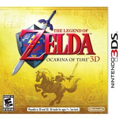 Legend of Zelda: Ocarina of Time 3D (Nintendo 3DS)