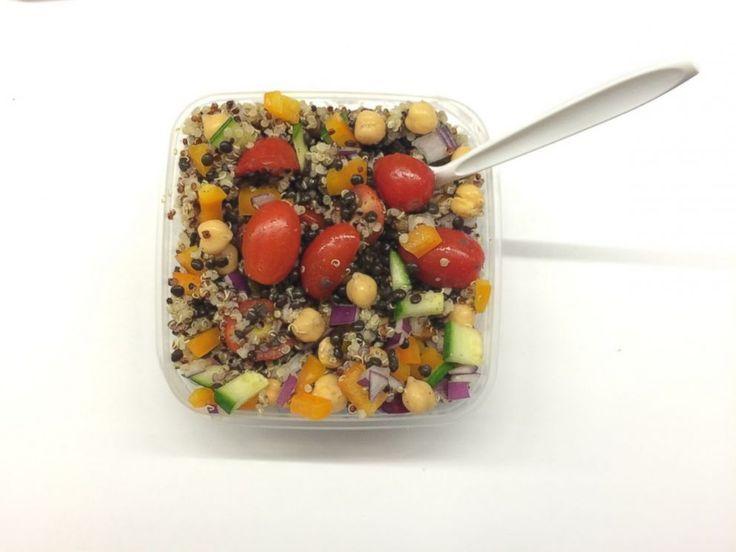 PHOTO: Quinoa salad.
