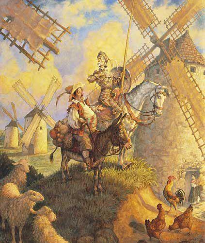 ❤In Italia va rammentato il poema in dialetto siciliano Don Chisciotte e Sanciu Panza di G. Meli (1785-86). Da ricordare, tra la fine del 19° sec. e la prima metà del 20°, il poema sinfonico Don Quixote di R. Strauss (1898), il melodramma Don Quichotte di J.- E. Massenet (1910), il film di G.W. Pabst (1933), il balletto Ritratto di Don Chisciotte di G. Petrassi (1945).