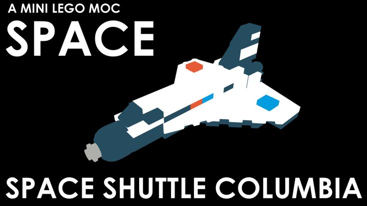 Download the Mini LEGO Space Shuttle Columbia model for free on our website!