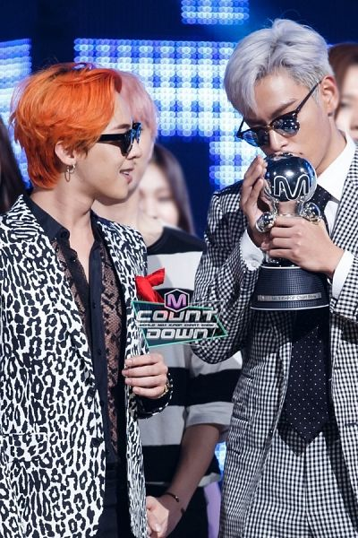 GD and TOP | M! Countdown (150820)