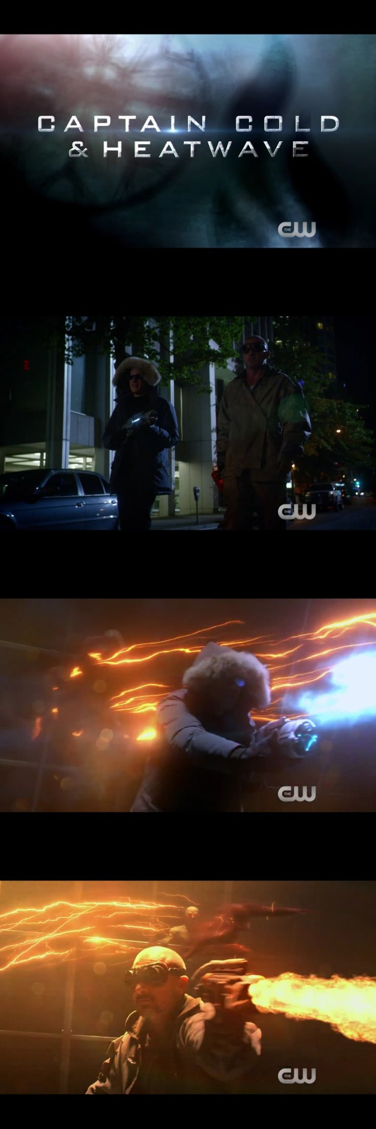 Captain Cold and Heatwave/ Legends of Tomorrow
