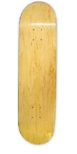 A blank deck that is priced well and skates like a charm!