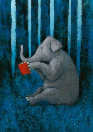 bibliolectors: Animals readers / Animales lectores (ilustración de Yusuke Yonezu)