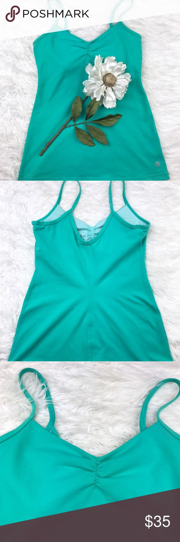 💕SALE💕Lululemon Turquoise Green Tank Top Fantastic 💕Lululemon Turquoise Green Tank Top lululemon athletica Tops Tank Tops