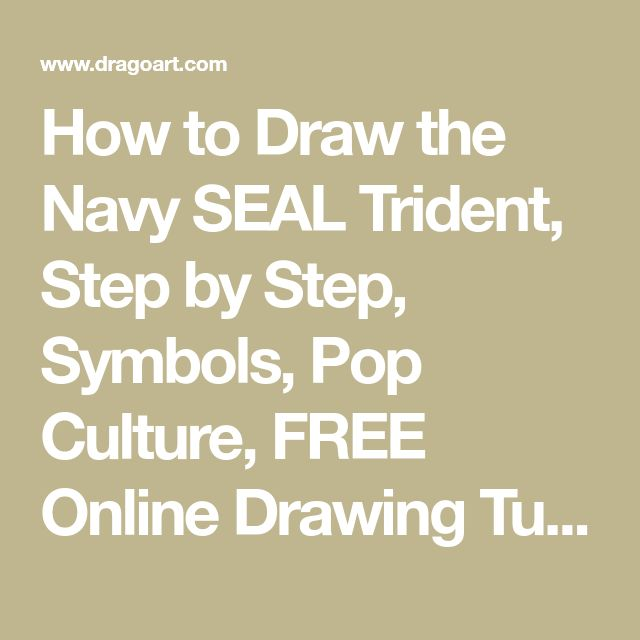 How to Draw the Navy SEAL Trident, Step by Step, Symbols, Pop Culture, FREE Online Drawing Tutorial, Added by Dawn, December 27, 2013, 6:22:42 pm