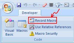 Recording a Macro using Excel Macro Recorder - Crash Course in Excel VBA