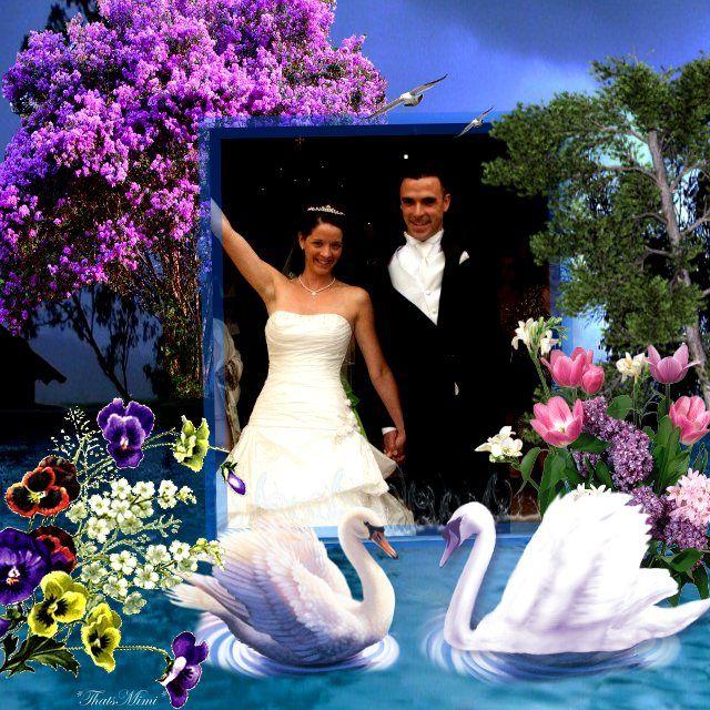 pour le mariage de ma nièce