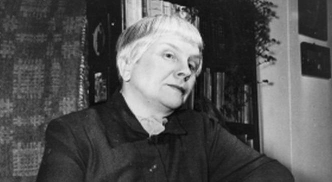 Maria Dąbrowska, pisarka (1950), PAPCAF Maria Dąbrowska,  a Polish writer (photo taken in 1950)