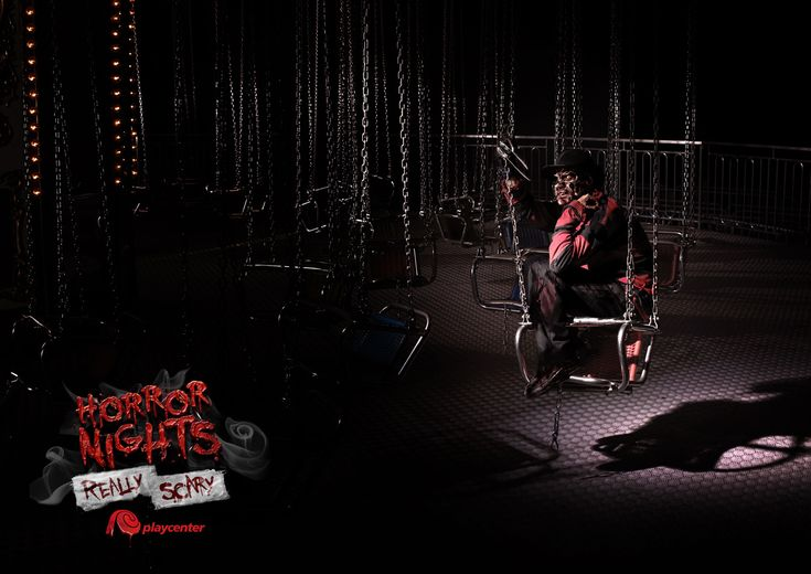 Playcenter: Fred Horror Nights Really scary