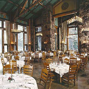 The best restaurants in Yosemite: Where to enjoy a good meal and glass of wine in and around the park. The Ahwahnee Dining Room