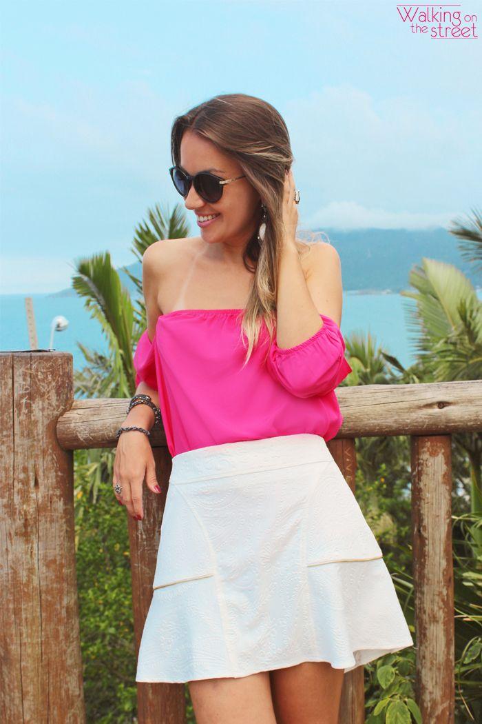 Die besten 25+ Blusa ciganinha branca Ideen auf Pinterest ...