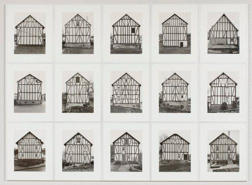 An image of Framework houses by Bernd Becher, Hilla Becher