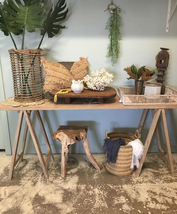 You'll find our Recycled Teal Trestle Table alongside these amazing treasures in store at Drift Design! www.rgimports.com.au