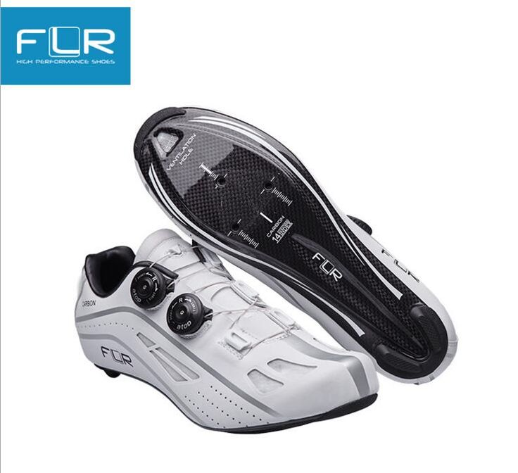 FLR FK-FXXII road bike lock shoes new bike shoes male road bike mountain bike riding shoes breathable anti - skid lock shoes
