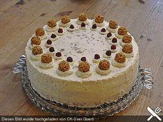 Schoko - Nuss - Sahne - Torte