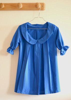 Tunique plis patron couture gratuit moldes de roupas gr tis pinterest - Pinterest couture deco ...